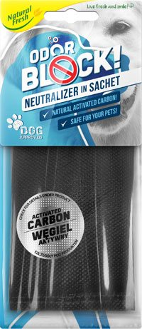 Air Aroma - ODOR BLOCK carbon sachet: DOG